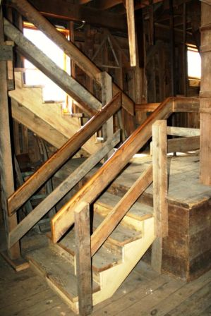 New Stairs in Messer/Mayer Mill