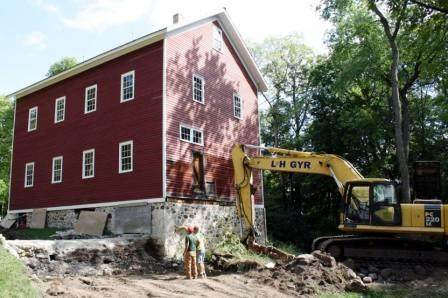 Restoring the Mill Foundation